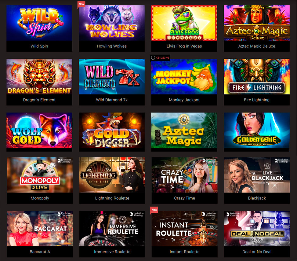 King Billy Casino Queen of Atlantis deposit bonus