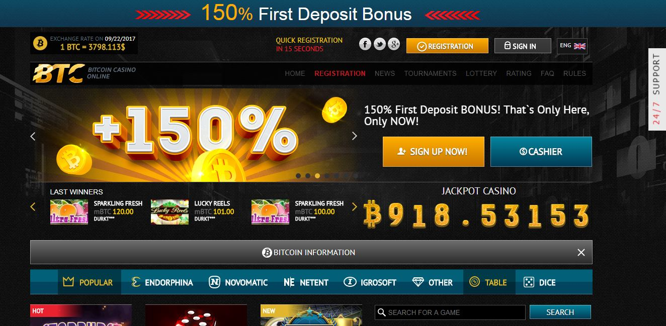 Bitcoin casino gratuit wild dragon